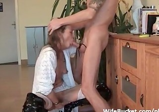 fucking the wife in the mouth